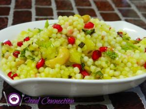 Sabudana Falahari Khichadi / Sago Pulao / Farali / Fasting Food recipe on Food Connection