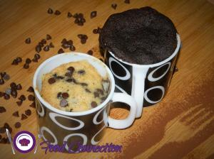 2 Minutes Mug Cake | Microwave Whole Wheat Mug Cake recipe on Food Connection
