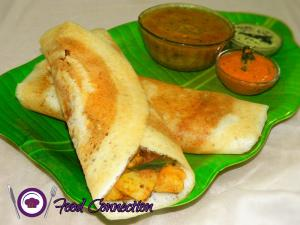 Dosa | Crispy Masala Dosa With Homemade Batter recipe on Food Connection