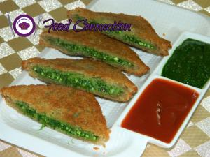 See Palak Paneer Sandwich recipe on Food Connections By Madhulika