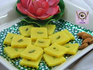 Badaam Katli recipe on Food Connection