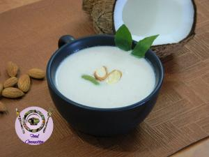 See Almond Coconut Milk Soup recipe on Food Connections By Madhulika