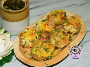 Dahi Puri recipe on Food Connection