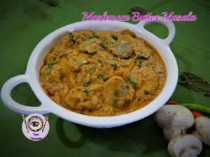 Mushroom Butter Masala recipe on Food Connection
