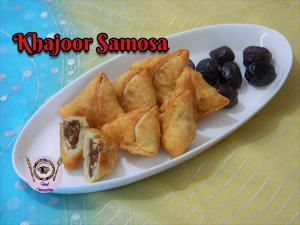Khajoor Samosa recipe on Food Connection