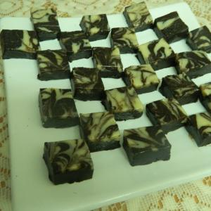 Marble Chocolate Fudge recipe on Food Connection