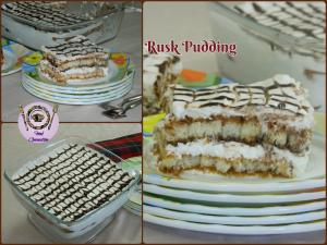 Rusk Pudding recipe on Food Connection