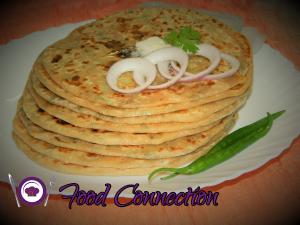 Aloo Paratha recipe on Food Connection