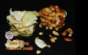 See Easy & Healthy Microwave Snacks For Fasting Days recipe on Food Connections By Madhulika