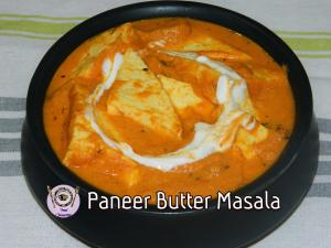 Guilt Free Paneer Butter Masala recipe on Food Connection