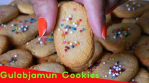 Gulabjamun Mix Cookies recipe on Food Connection