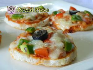 See Instant Tawa Bread Pizza recipe on Food Connections By Madhulika