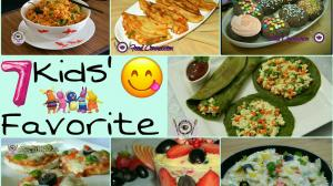 See 7 Kids Favorite Recipes recipe on Food Connections By Madhulika