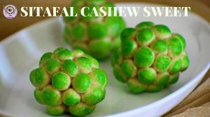 Cashew Custard Apple Sweet recipe on Food Connection