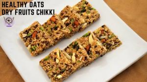 Healthy & Nutritious oats Chikki recipe on Food Connection