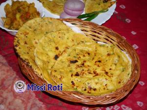 Missi Roti recipe on Food Connection