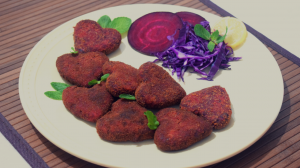 Beetroot Cutlet recipe on Food Connection