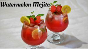 See Watermelon Mojito recipe on Food Connections By Madhulika