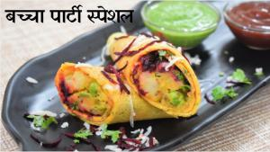 Besan Franky recipe on Food Connection