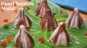 Paan Chocolate Modak recipe on Food Connection