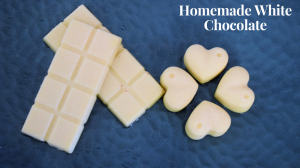 Homemade White Chocolate recipe on Food Connection