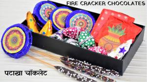 Homemade chocolate fire crackers recipe on Food Connection