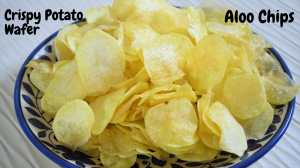 Crispy Potato wafer recipe on Food Connection