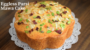Eggless Parsi Mawa Cake recipe on Food Connection