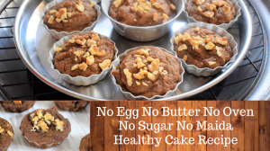 Healthy Dates & Nuts Cake recipe on Food Connection
