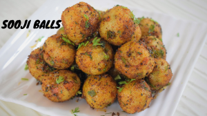 Sooji Balls recipe on Food Connection