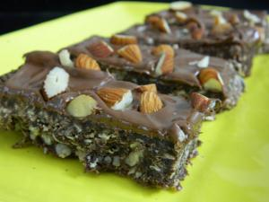 Eggless Nutella Bar recipe on Food Connection