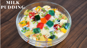 See Milk Pudding recipe on Food Connections By Madhulika