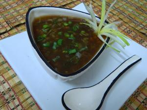 Veg Hot & Sour Soup recipe on Food Connection