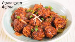 See Noodles Manchurian recipe on Food Connections By Madhulika