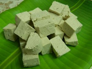 Soya Paneer / Tofu/ Bean Curd / Home made Tofu recipe on Food Connection