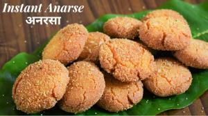 Instant Anarsa recipe on Food Connection