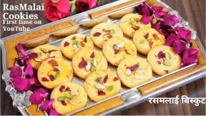 See Rasmalai Cookies recipe on Food Connections By Madhulika