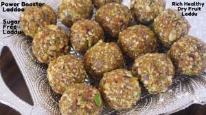 Dry Fruit Laddu recipe on Food Connection