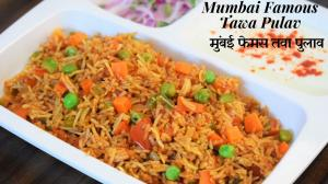 See Tawa Pulav recipe on Food Connections By Madhulika