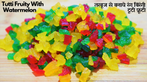 See Homemade Tutti Fruity recipe on Food Connections By Madhulika