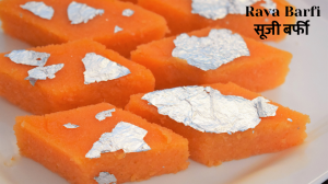 See Rava Barfi recipe on Food Connections By Madhulika