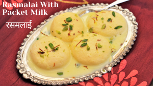 Rasmalai recipe on Food Connection