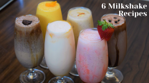 See 6 Milkshake Recipes recipe on Food Connections By Madhulika