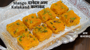 See Mango Kalakand recipe on Food Connections By Madhulika