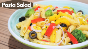 See Pasta Vegetable Salad recipe on Food Connections By Madhulika