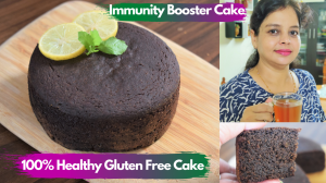 See Immunnity Booster Ragi Cake recipe on Food Connections By Madhulika