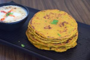 See Oats Chila recipe on Food Connections By Madhulika